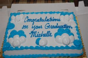 My graduation cake!