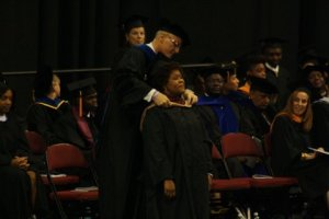 Proudly being hooded Sept 23 2012