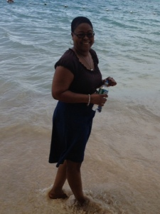 Me by the beach at Dunns River