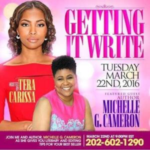 Teleconference with Tera Carissa